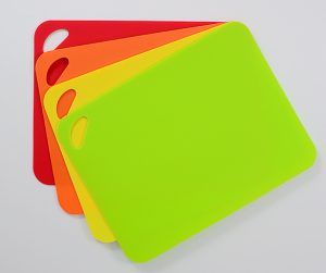 4 Pack of colored grip-back cutting mats