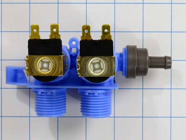 Washing Machine water inlet valve, used on some front load washers.