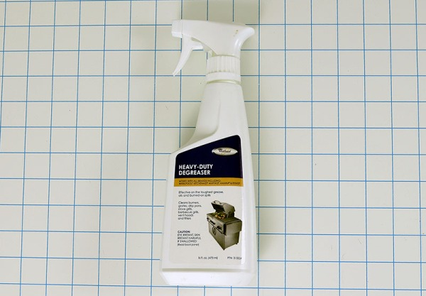 Heavy duty range hood degreaser