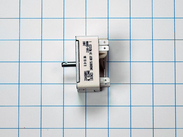Surface Burner Switch 316436001 Electrolux