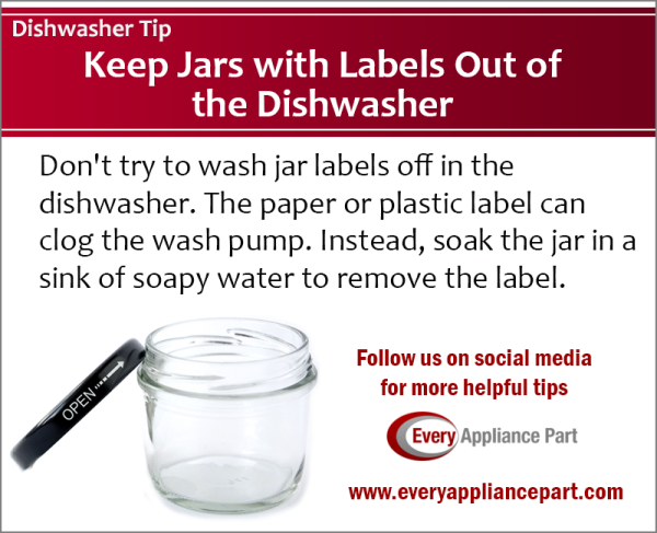 Dishwasher Repair Tip