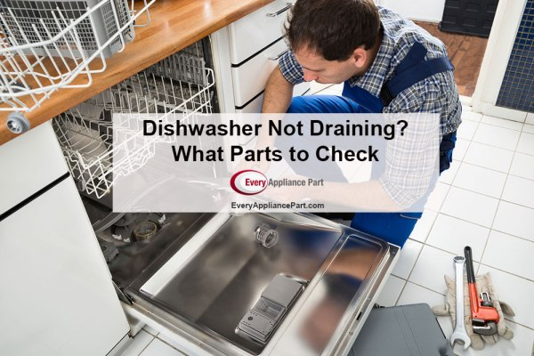 Dishwasher Not Draining? What Parts to Check