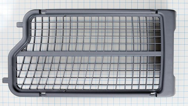 Samsung Gray plastic clothes dryer Dryer Rack Part Number: DC61-02773A