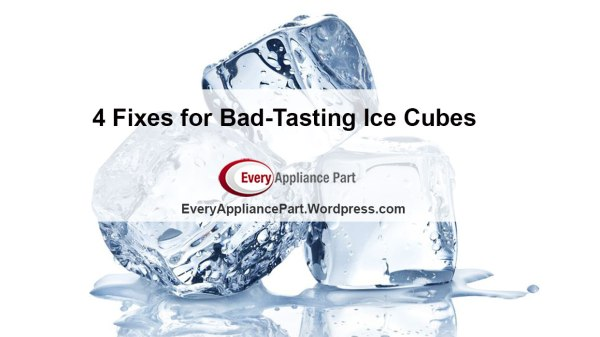 4 Fixes for Bad-Tasting Ice Cubes