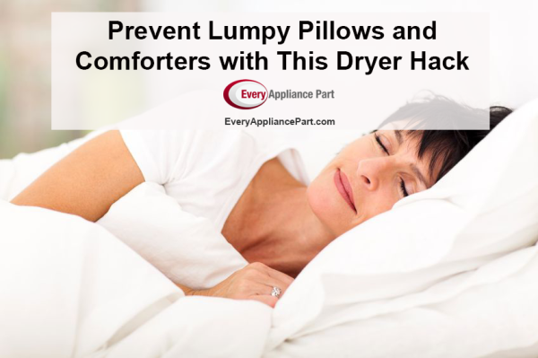 Prevent Lumpy Pillows and Comforters with This Dryer Hack